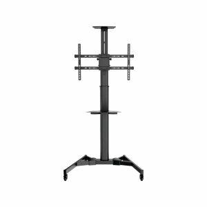 Bervin Bracket Standing / Dorong 2 Tatakan/Shelf untuk TV 40″ – 80″