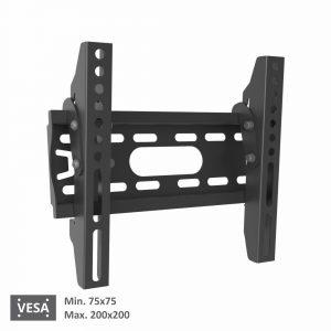 Bervin Wall Bracket Adjustable untuk TV 24″ – 43″